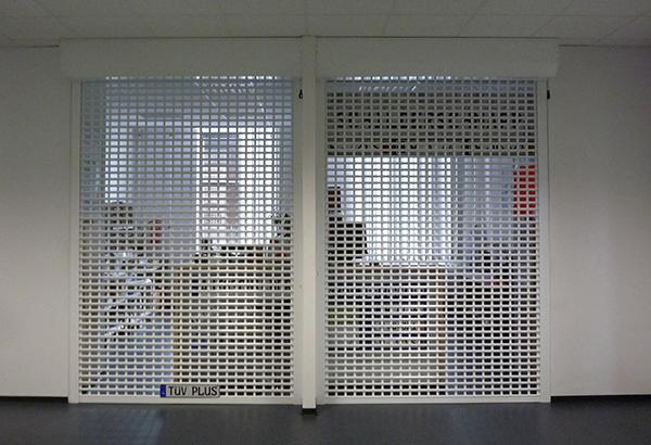 Keroll Kerger Galerie Rollgitter AS-55 pulverbeschichtet