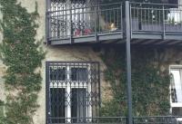 Scherengitter Balkonsicherung