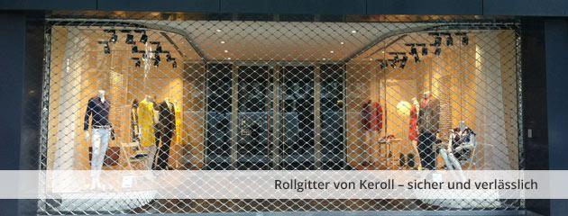 Rollgitter Wabenform von Keroll – sicher und verlässlich