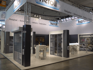 Messestand keroll Messe R+T