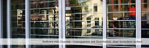 Keroll Kerger Rolltore mit Charme-transparent trotzdem sicher