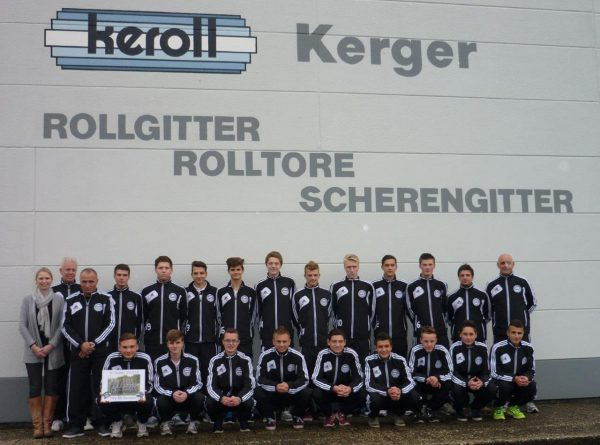 Keroll sponsert Jugendmannschaft TSV Ronsdorf